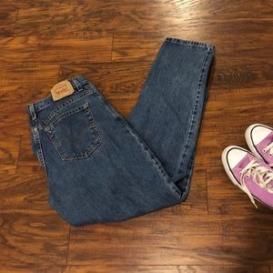 Levi's 550 relaxed fit 12 jeans
